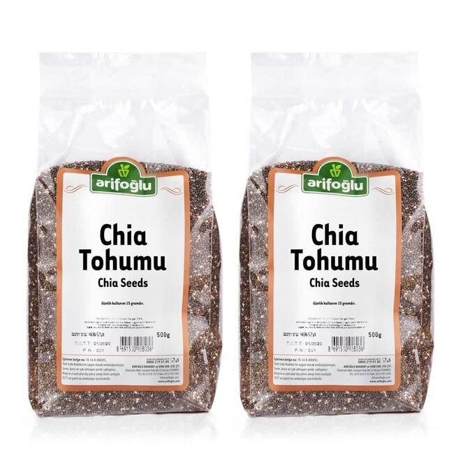 Chia Tohumu 500g (2 Adet)