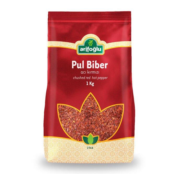 Pul Biber (Acı Kırmızı) 1000g