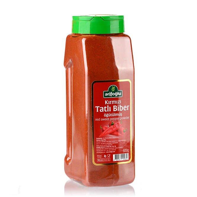 Tatlı Toz Biber (Kırmızı Öğütülmüş) 600g