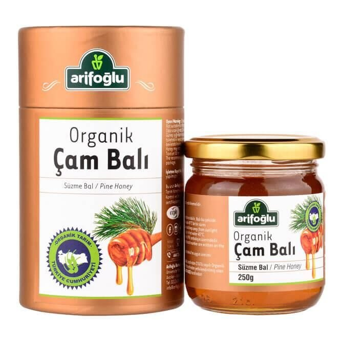 Organik Çam Balı 250g